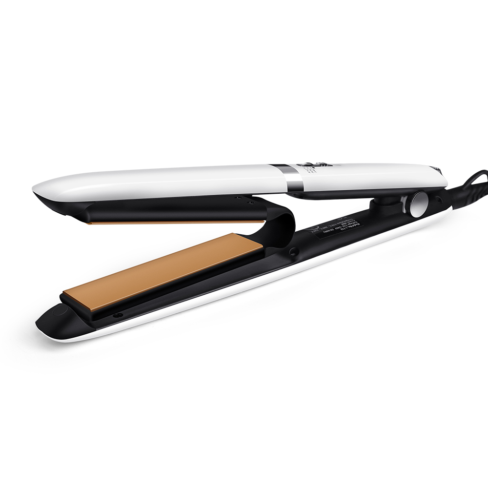 2018 Professional Hot Air Plate Hair Straightener Iron Gold Flat iIron 2 IN 1 Curling Irons Hair Styling Tools <br>