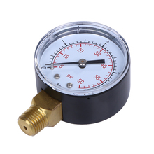 New Pool Spa Filter Water Air Oil Vacuum Dry Utility Pressure Gauge 0-60 PSI Side Mount 1/4 Inch Pipe Thread Dial Manometer(China)