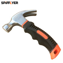 8oz stubby mini hammers small martillo claw hammer tools car window breaker glass rescue emergency safety escape coche geologica(China)