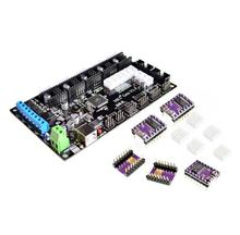 MKS Gen V1.4 3D printer control board +5PCS DRV8825 stepper motor Mega 2560 R3 motherboard RepRap Ramps1.4 compatible, with USB(China)