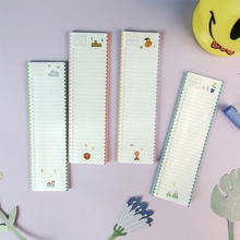 30 pages/pack Memo Pad Sticky Notes Notebook Stationery Papelaria, 5.5cm x 19.2 cm(China)
