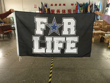 For Life Banner Dallas Cowboys Flag World Series 2016 Football Team Banners And Flags Black With Star Dallas Cowboy