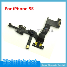 MXHOBIC 10pcs/lot Proximity Sensor Light Flex Cable with Front Face Camera For iPhone 5S SE Front Camera Assembly Flex Cable(China)