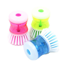 Kitchen Dish Washing Cleaning Up Brush Easy Scrubbing Liquid Detergent Brushes DJ0233