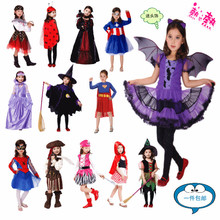 Halloween Christmas Batman costumes girls party cosplay costume for children kids clothes