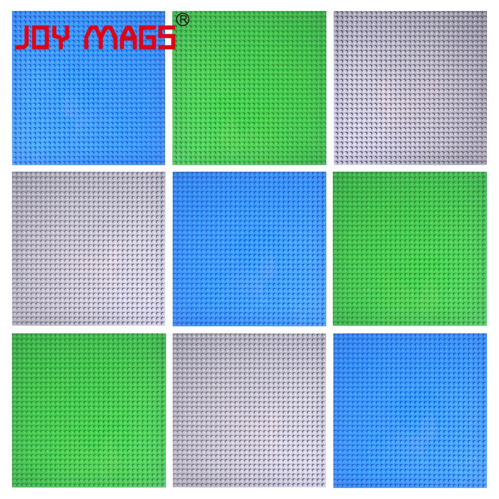 JOY MAGS Building Blocks Base Plate 25.5cm 9 PCS/LOT Thick Compatible with All Brand<br><br>Aliexpress