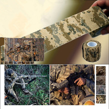 Hunting Camouflage Tape Roll Camo Stretch Bandage Camping Gun Cloths Hot NEW 10pcs