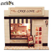 Doll house furniture miniatura diy doll houses miniature dollhouse wooden handmade grownups toys for children birthday gift