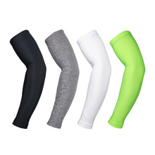 2Pcs/Set Ciclismo Cycling Arm Sleeves Sun UV Protection Armwarmer Bicycle Compression Arm Warmer Sleeve for Outdoor Sport Hiking