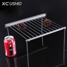 Picnic Vertical BBQ Charcoal Grill Stainless Removable Smokeless Outdoor Portable Camping Stove Barbecue Grill Skewer Roast Rack