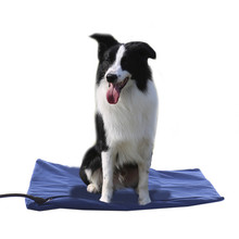 2 Colors Winter Pet Heating Pad Pet Dog Cat Waterproof Electric Pad Heater Warmer Mat Bed Blanket Heating Pad 18W  50*50cm