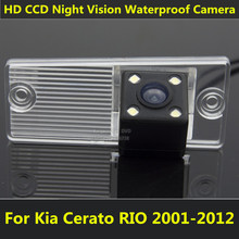 For Kia Cerato RIO 2003 2004 2005 2006 2007 2008 2009 2010 2012 Car CCD Night Vision Backup Rear View Camera Waterproof Parking(China)