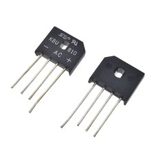 10PCS KBU810 KBU-810 8A 1000V diode bridge rectifier new and original IC Free Shipping(China)