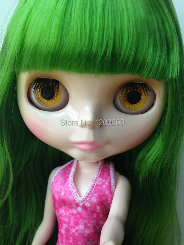 New Arrvial Neo Blyth Doll On Sale,Green Hair (Suitable For Blyth,BJD) (S15042215)(China (Mainland))