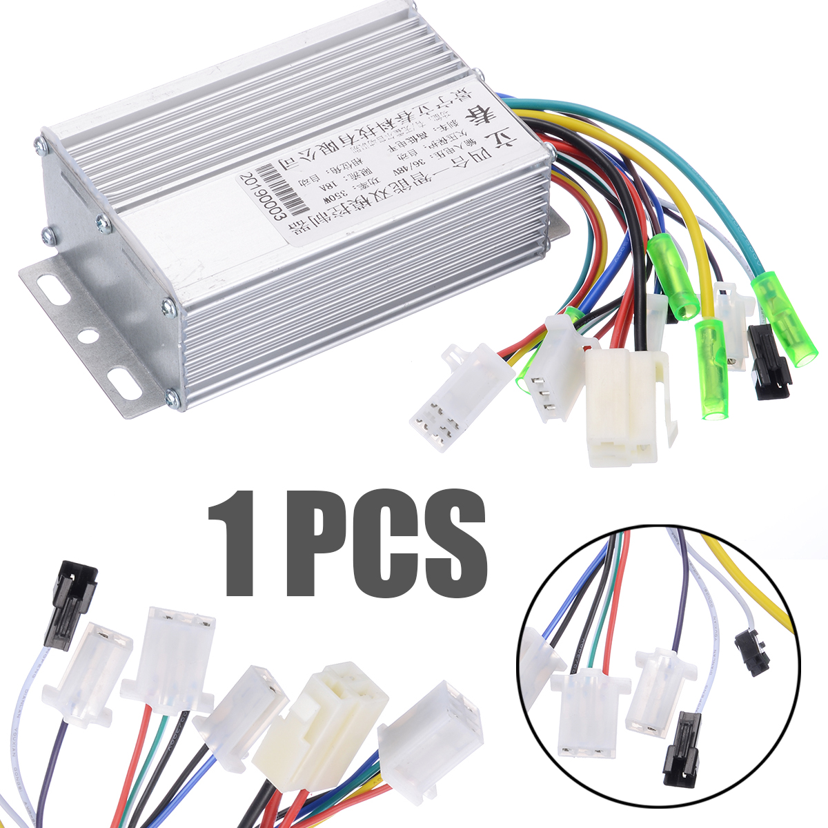 New 36V/48V 350W Brushless Motor Controller For Electric Bicycle E-bike Scooter Brushless DC Motor Controller