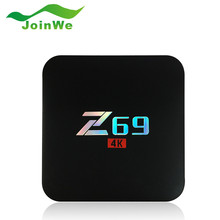 2017 NEW Z69 Andriod 6.0 TV Box HD Network 2.4G Wifi 10/100M Ethernet S905X Set Top Box 4K TV 2GB 8GB Media Player