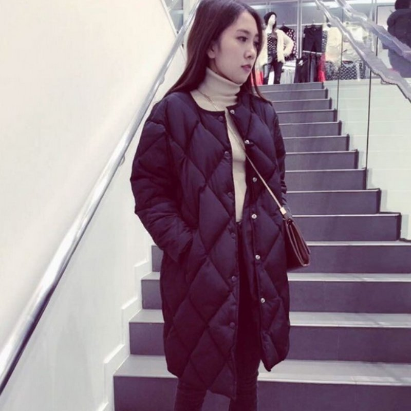Winter Thickening Women Parkas Ladies Jacket Outerwear Fashion Cotton-padded Jacket Medium-long Coat Одежда и ак�е��уары<br><br><br>Aliexpress