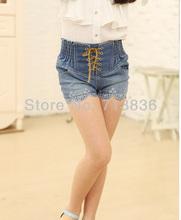 Girls embroidery denim shorts summer ids clothes wholesale hot clothing 8ES505ST-27 [Eleven Story](China)