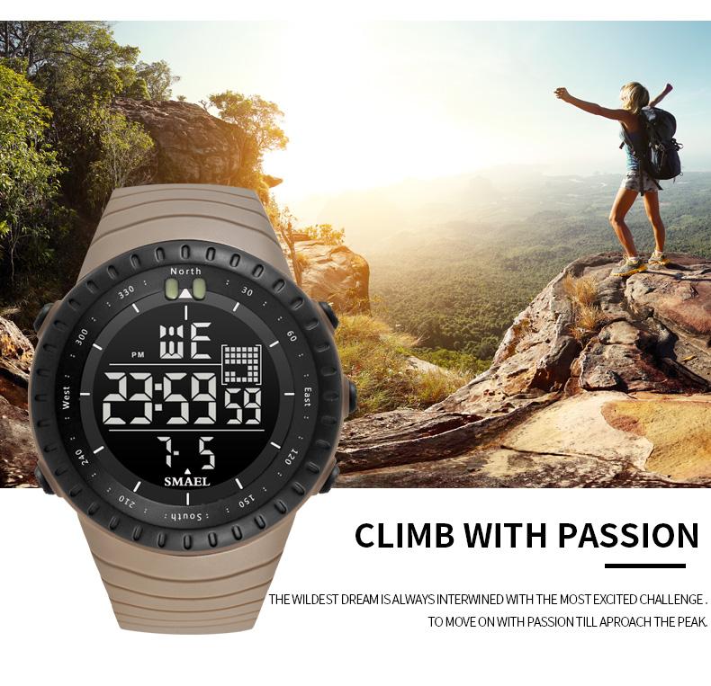 5.digital watch man water