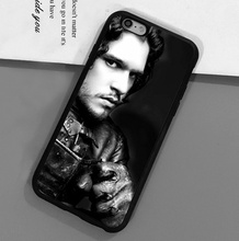 Game of Throne Jon Snow Printed Luxury Mobile Phone Case For iPhone 6 6S Plus 7 7 Plus 5 5S 5C SE 4S Soft Rubber Skin Back Cover