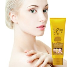 Morocco Agam oil Gold Collagen Mask,Anti-aging,Moisturizing Whitening Facial Mask beauty Face Care Product Aloe face mask makeup