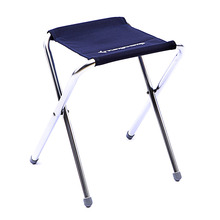KingCamp Aluminum Folding Chair,Four Legs Stool for Camping/Travelling