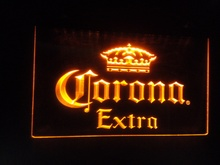 b42 Corona Extra Beer Bar Pub 3D SIGNS cafe LED Neon Light Sign home decor shop crafts(China)