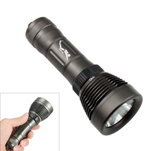 CREE XML T6 LED 1800LM Diving Flashlight, Underwater Submersible Waterproof Handlight Torch, 80m Diving