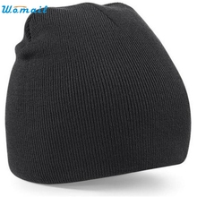 Wonderful 2016 Knitted Beanie Solid Hat Mens Womens 8 Color Unisex Wooly Winter Warm Skull Cap Dec 23