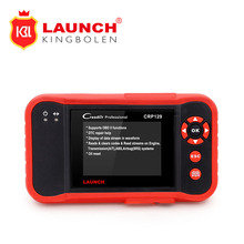 Launch X431 Creader CRP129 launch CRP129 ENG/AT/ABS/SRS EPB SAS Oil Service Light resets Code Scanner plus creader 419 as gift