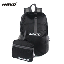 NAVO Women Men Backpack Riding Back Pack Bag Ultra Light Folding Backpack Travel Nylon Bagpack Shoulder Bags Mochila bolsas