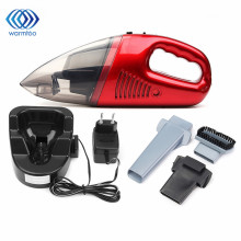 Mini Portable 60W Cordless  Vacuum Cleaner For Car Dry Wet Handheld Super Suction Dust Collector Cleaning