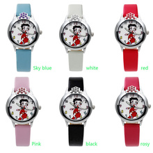 Fashion watch 3D chick model watch leather sports watch quartz ladies watch(China)