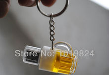 100% real capacity beer bottle/beer glass mug bst quality usb flash drive /memory card16G usb flash drives S28 *(China)