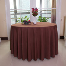 Big Discount !! 20 pieces 70 '' round polyester coffle table cloth/table linens for wedding party decoratin Free Shipping(China)