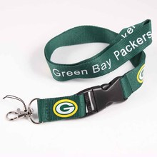Green Bay Packers Lanyard Neck Strap For ID Pass Card Badge Gym Key/Mobile Phone USB Holder USA Football DIY Hang Rope Necklace(China)
