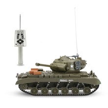 Original 3841-02 1/30 27MHz U.S. PERSHING M26 Heavy Tank RC Battle Tank with Lights and Sounds