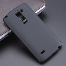 Black Gel TPU Slim Soft Anti Skiding Case Back Cover For LG Optimus G Pro 2 F350 D838 Mobile Phone Rubber silicone Bag(China)