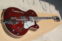 Electric Guitars,1961 Gretsch 6113/9 Tennessean Jazz Bigsby Tremolo, Musical Insruments China Guitar, Free Shipping Guitar(China)