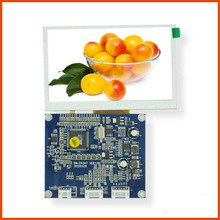 4.3 inch TFT LCD module display 480x272 resolution Support CVBS / video and VGA signal input screen