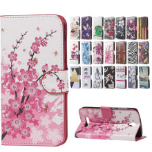 ZTE L5 PLUS case Pink Plum Magnetic Leather Wallet Handbag Book Cover Case For Flip ZTE BLADE L5 PLUS moblie phoone Cases coque(China)