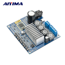 Aiyima TPA3116D2 Bluetooth Dual-channel High-power Digital Amplifier Board Audio Receiver Sound Amplifiers USB AUX