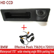 Night Vision 170'' Wide view Angle Car Accessories WIFI Handle CCD Car Rear View Reverse Camera for VW BMW F10 F11 F25 F30 BMW 5(China)
