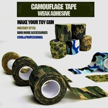 Toy gun accessories Camouflage TAP Makes your toy gun military Style Outdoor Camouflage Stealth Waterproof Wrap Durable(China)