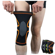 1 Piece Football Basketball Knee Pads Sports Safety Kneepads Training Elastic Knee brace Support Guard Sports Kneeling Pad(China)