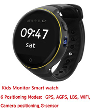 JingTider S668 Kids Monitor Smart watch Child GPS Watch Phone wristwatch WIFI camera positioning SOS Sim card For IOS Android