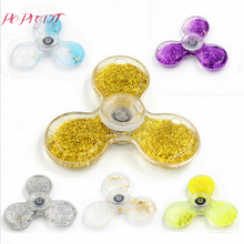Buy Quicksand Fidget Spinner Crystal Hand Spinner Stress Reliever Hand Spinner Autism ADHD EDC Anti Stress Toys Fidget Spiner for $2.53 in AliExpress store