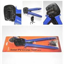 10pcs/lot Solar PV MC4 Crimp Tool for connector solar cable 2.5m2 4mm2 6mm2 Crimper Crimping Tool for Solar Power System XQ0092(China)