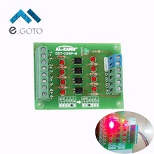 24V to 5V 4 Channel Optocoupler Isolation Board Isolated Module PLC Signal Level Voltage Converter Board 4Bit(China)