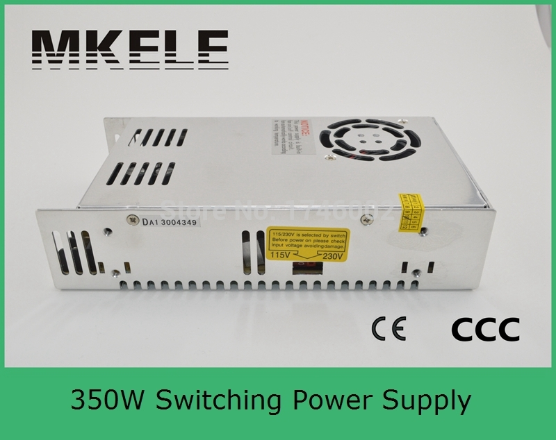 S-350-48 7.3a 350w Single Output Uninterruptible Adjustable ac 110v 220v to dc 48v Switching power supply for LED Strip light<br>